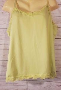 Fashion Bug Bright Yellow Tank Top